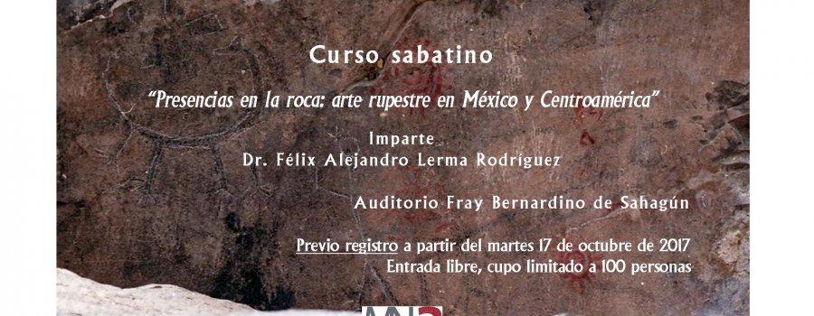 Presencias en la roca: arte rupestre en México y Centroamérica