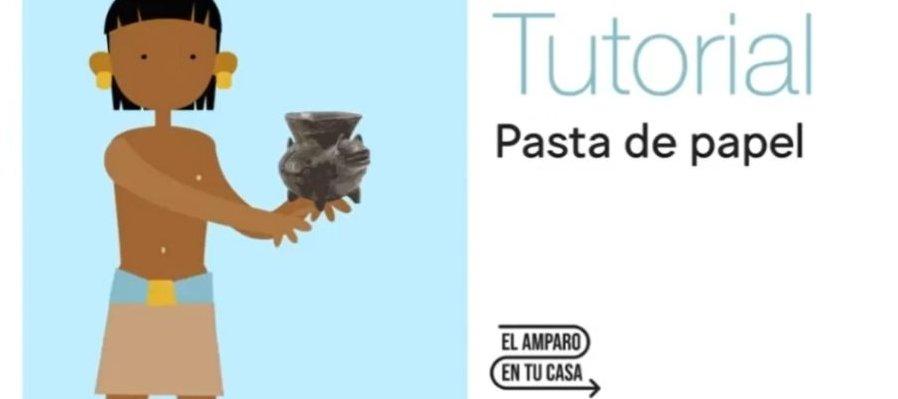 Tutorial: Pasta de papel. Olla con forma de perro