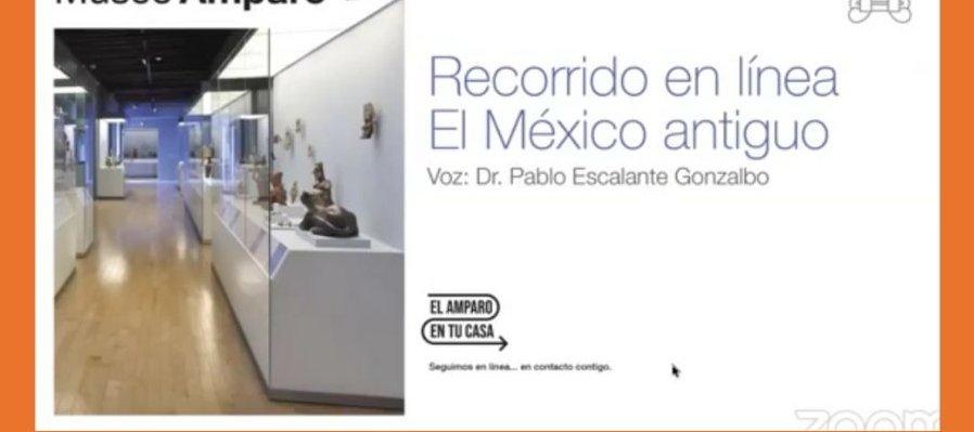 Recorrido virtual por las Salas del México antiguo