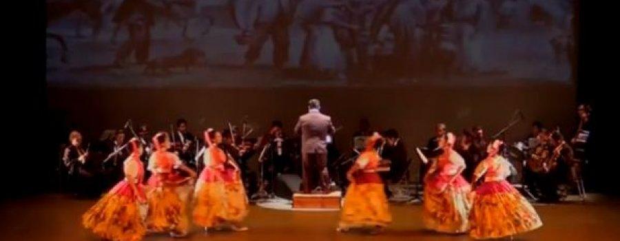 Bailando con orquesta