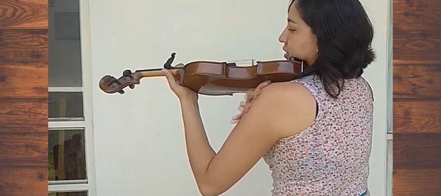 Posturas para tocar el violín