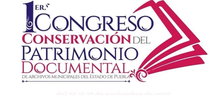 Sesión 1, Congreso de Conservación del Patrimonio Documental de los Archivos Municipales del Estado de Puebla