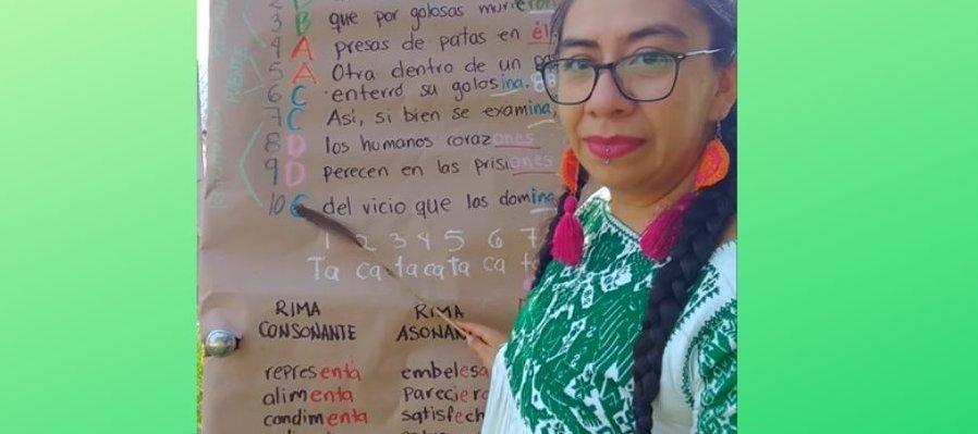 Taller Décima Espinela, primera sesión