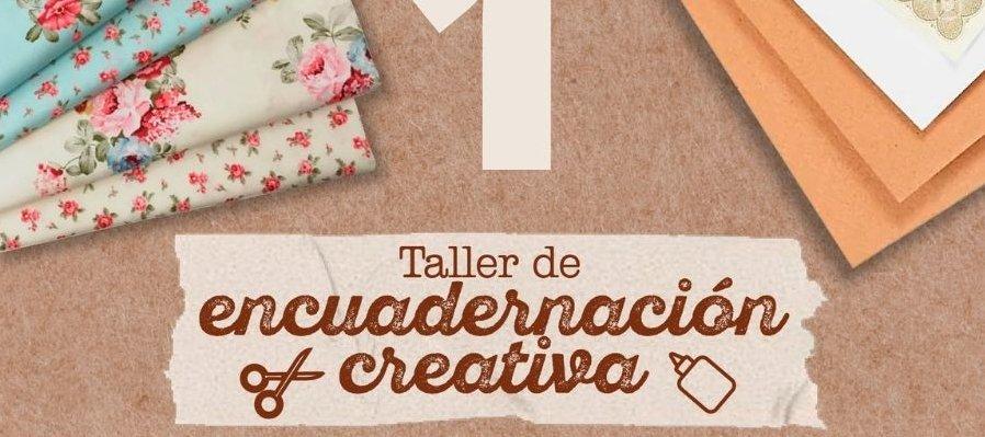 Taller de encuadernación creativa. 1a Sesión