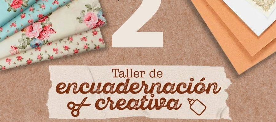 Taller de encuadernación creativa. 2a Sesión