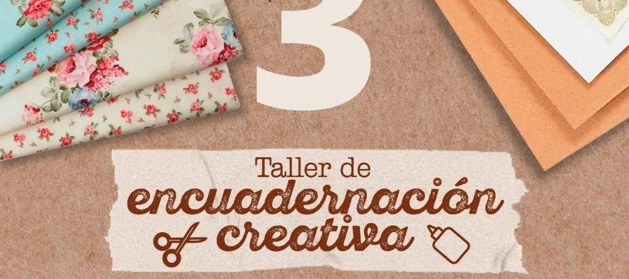 Taller de encuadernación creativa. 3a Sesión