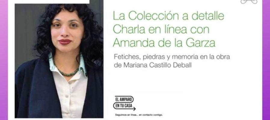Fetiches, piedras y memoria en la obra de Mariana Castillo Deball