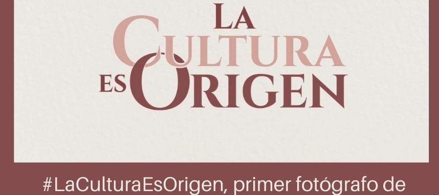 #LaCulturaEsOrigen, primer fotógrafo de San José Miahuatlán