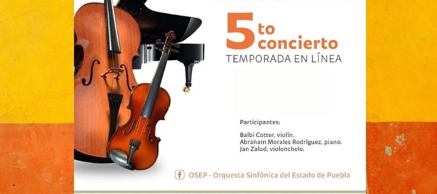 Geistertrio. 5to Concierto Temporada en Línea