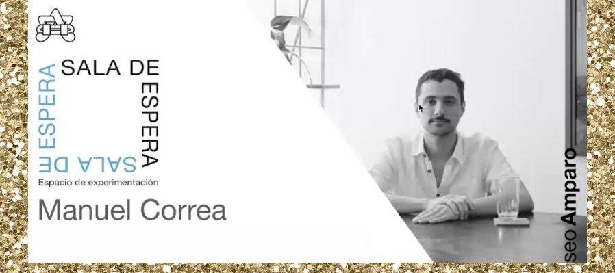 Manuel Correa en Sala de Espera