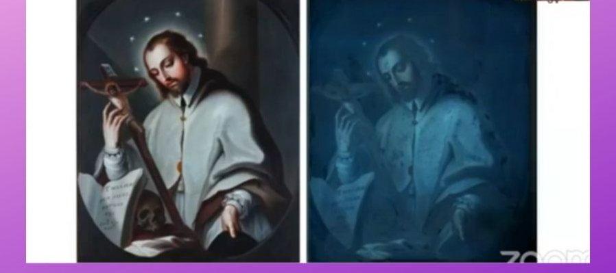 Miguel Cabrera y San Juan Nepomuceno: Imagen de la paciencia