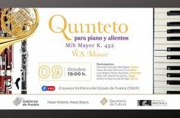 Quinteto para piano y alientos