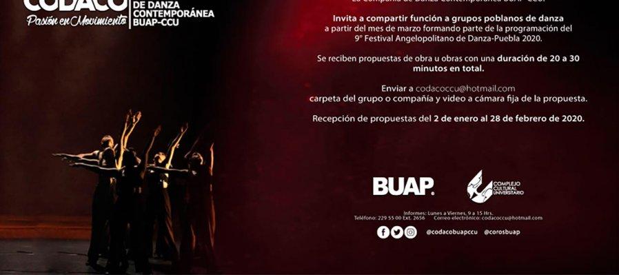 Invitación a grupos poblanos de danza