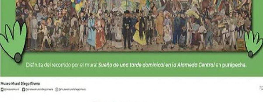 Sueño de una tarde dominical en la Alameda Central en lengua purépecha