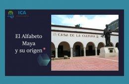 El alfabeto maya y su origen