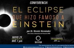 El eclipse que hizo famoso a Einstein