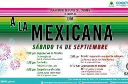 Día a la mexicana