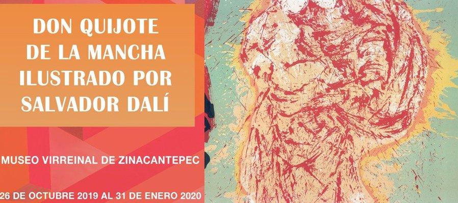 Don Quijote de la Mancha, ilustrado por Salvador Dalí
