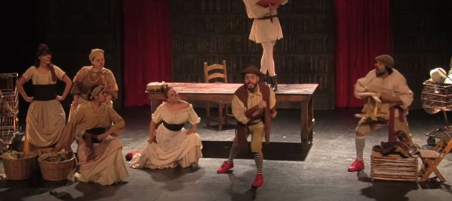 Quijote y Panza