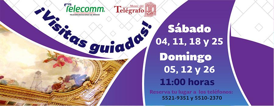 Visitas Guiadas - Agosto