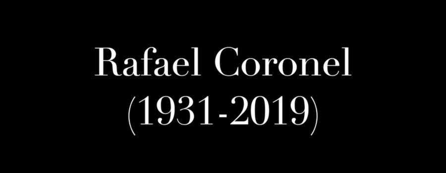 Aniversario luctuoso de Rafael Coronel