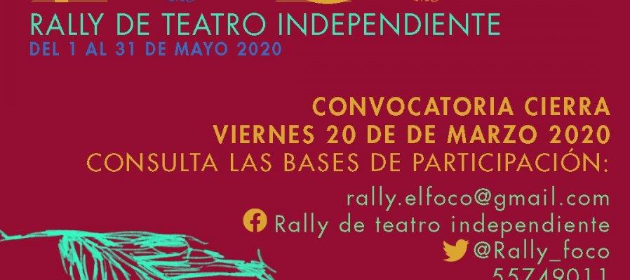 Rally de teatro independiente