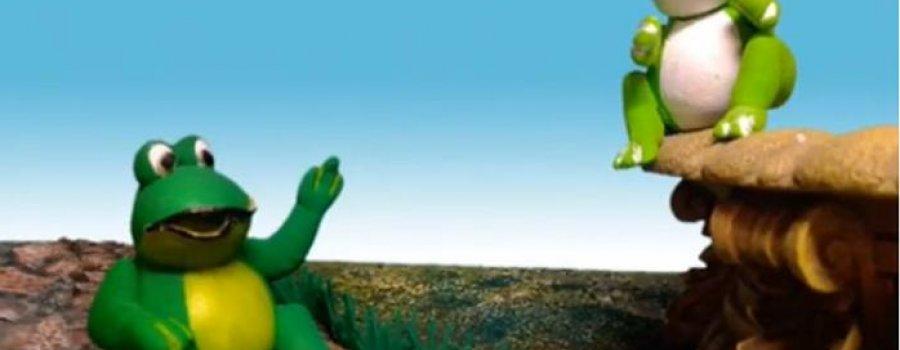 Epidemia de cuentos: Las dos ranas