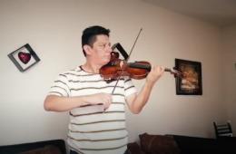 Recital de violín con Luis Enrique Palomino Vereau