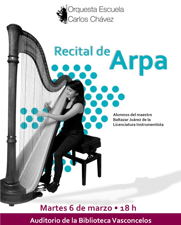 Recital de Arpa/OECCh