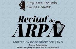 Recital de Arpa de la Orquesta Escuela Carlos Chávez