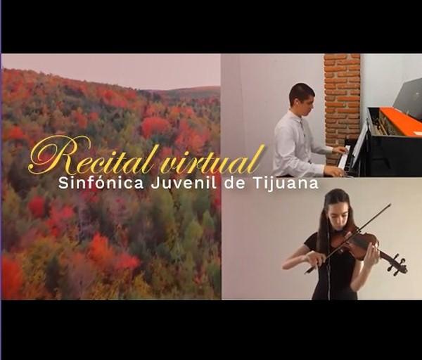 Recital virtual de la Sinfónica Juvenil de Tijuana