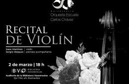 Recital de Violín de la Orquesta Escuela Carlos