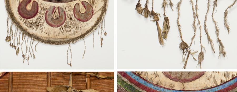 Charla virtual: Un escudo con plumas y  piel de ocelote en el  Castillo de Chapultepec