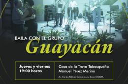 Canta y baila con el grupo Guayacán
