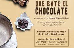 Bate que bate el chocolate