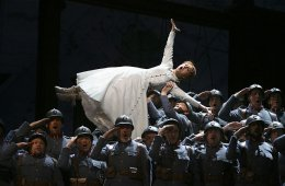 Live from the Met in New York. La Fille du Régiment