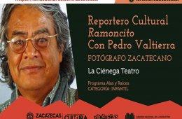 El reportero Ramoncito entrevista al fotógrafo zacatecan...