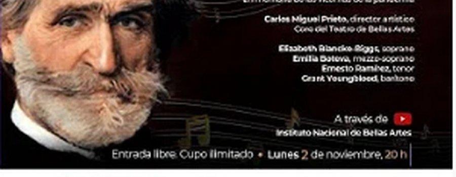 Réquiem de Verdi con Orquesta Sinfónica Nacional