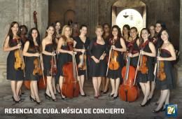Presencia de Cuba. Música de concierto