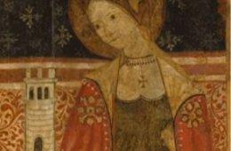 Comentario de obra: Santa Bárbara, siglos XV-XVI