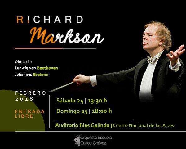 Programa 2. Beethoven y Brahms/Orquesta Escuela Carlos Chávez