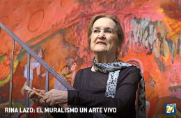 Rina Lazo: el muralismo, un arte vivo