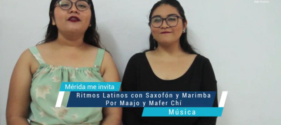 Ritmos Latinos con Saxofón y Marimba