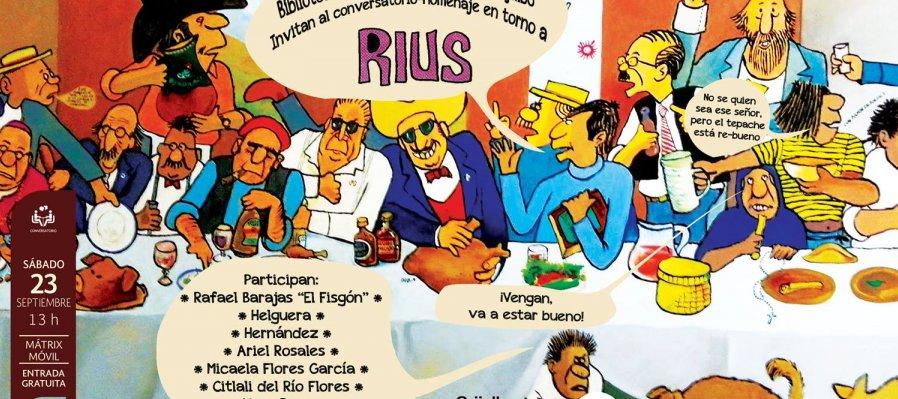 Conversatorio-homenaje en torno a Rius