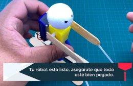 Robótica infantil: ¿Cómo construir un robot esquiador?