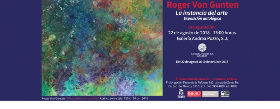 Roger Von Gunten. La instancia del arte