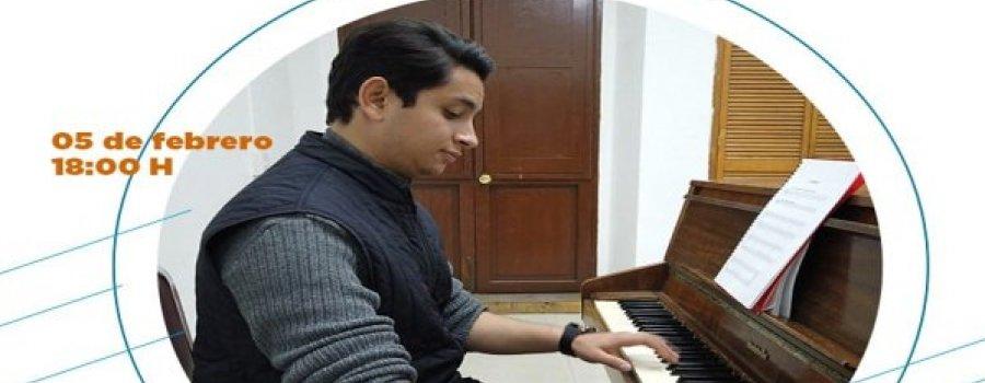 Taller de Piano para jóvenes y adultos con el maestro Romel Almodóvar