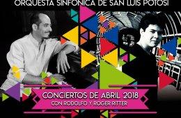 Segundo concierto de abril con Rodolfo y Roger Ritter