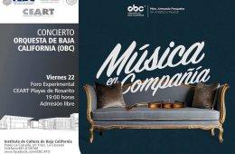 Concierto Orquesta de Baja California en Rosarito
