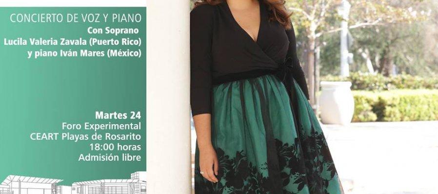 Concierto con la soprano Lucila Valeria Zavala